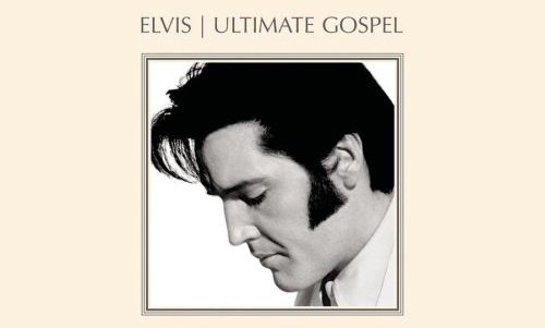 Elvis Presley Ultimate Gospel CD Cover