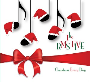 RMS Five Christmas CD Cover