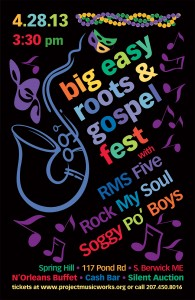 Big Easy Roots & Gospel Fest poster