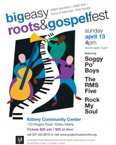 photo of flyer for Big Easy Roots & Gospel Fest 2014
