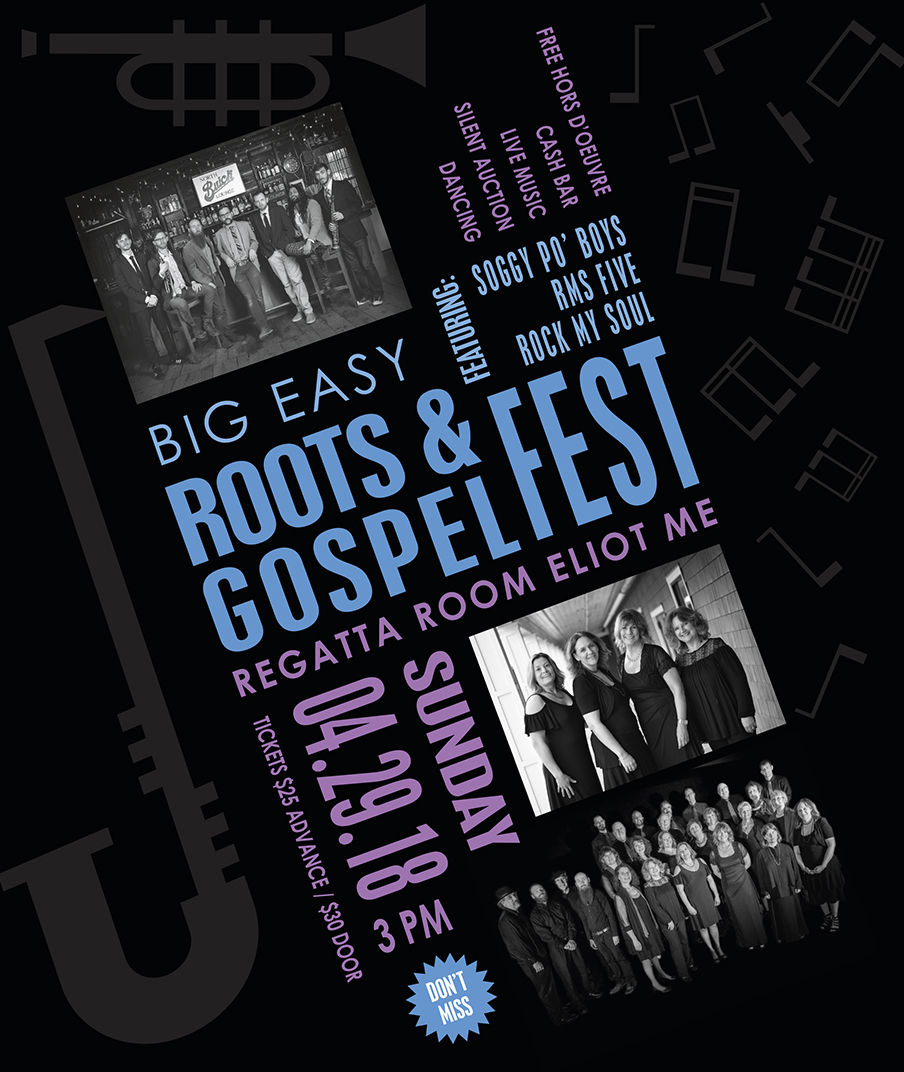 image of poster for 2018 Roots & Gospel Fest